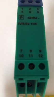 Pepperl+Fuchs KHD4-IVR / Ex-103 DC Isolation Module 71099 - Used
