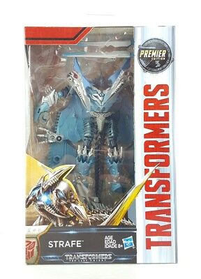 MIP Transformers The Last Knight Premier Edition Strafe Deluxe Figure Dinobots