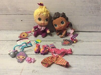 Baby Alive Crib Life Dolls, Ella Song, Lulu Lake, Lily Sweet Outfit, Rollerskate
