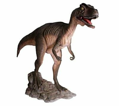 Allosaurus Mouth Open Dinosaur Statue