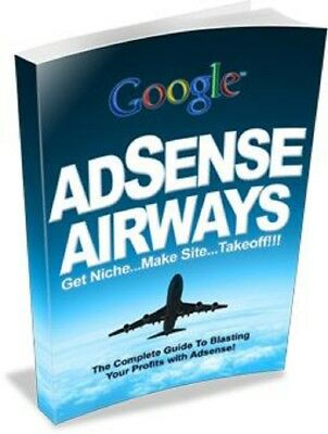 Adsense airways pdf ebook Free Shipping With master Resell Rights