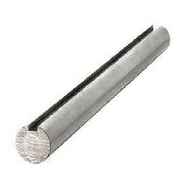 "Keyed shaft , CS 1045 material , 1-1/2"" X 3"" OAL ,3/8"" X 3/16"" Keyway"
