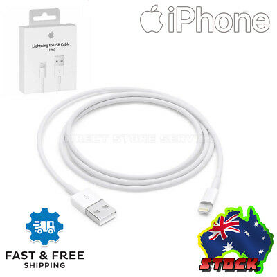 Lightning Charger Cable Cord for Genuine Apple iPhone 5 6 S 7 Plus 8 X XS iPad