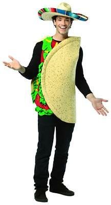 Taco Costume Lightweight Adult One Size Fits Most