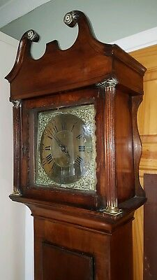 WELSH LONGCASE GRANDFATHER CLOCK BY Charles Vaughan Pontypool dated 1759