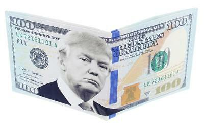 Trump Hundred Dollar Bill Wallet
