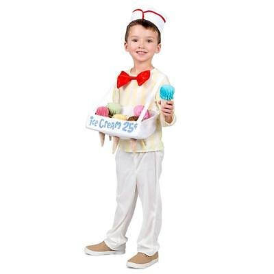 Ice Cream Cone Salesman Toddler Costume 12-24 Months