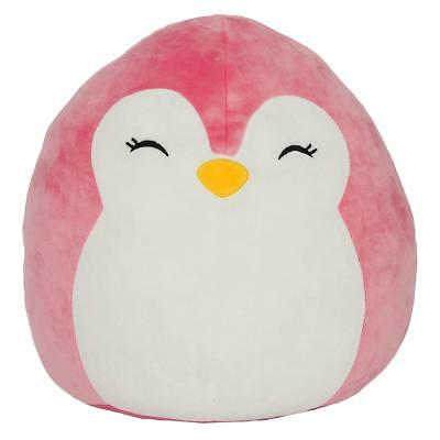 Squishmallow 13-Inch Plush Pillow - Piper The Pink Penguin