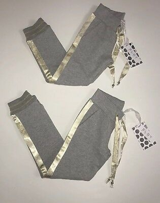 Elsy girls grey tracksuit bottoms Bnwt RRP £45 ‼️‼️NOW £22‼️‼️