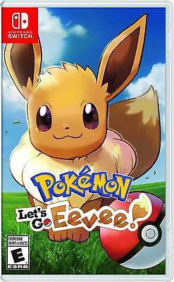 Pokemon: Lets Go Eevee For Nintendo Switch Brand New Sealed