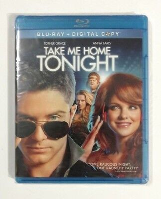 Take Me Home Tonight Blu Ray Dvd Sealed New In Box