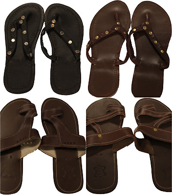 9d513afa5b313 HANDMADE LEATHER MAASAI Sandals Flip Flops Men & Women's
