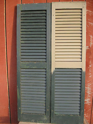 Awesome Vintage Pair of Shutters Architectural Salvage
