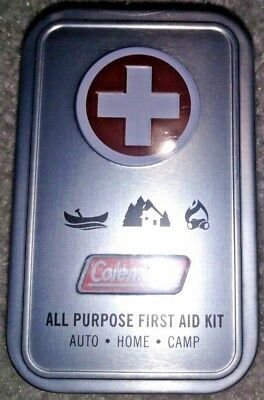 Coleman All Purpose 27 Piece All Purpose First Aid Kit, Auto, Home, Camp
