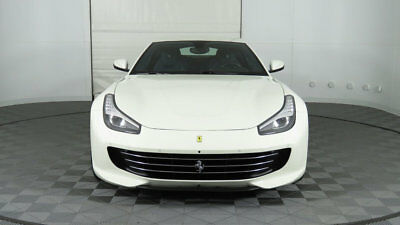 2017 Ferrari GTC4Lusso Coupe 2017 Ferrari GTC4Lusso, White/Blue, Low Miles, 1 Owner, Great Options!!!