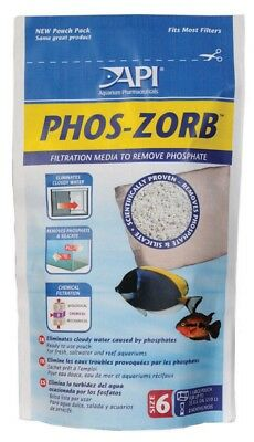 API Phos-Zorb Pouch Specialized Synthetic Adsorption Media Removes Phosphate S6