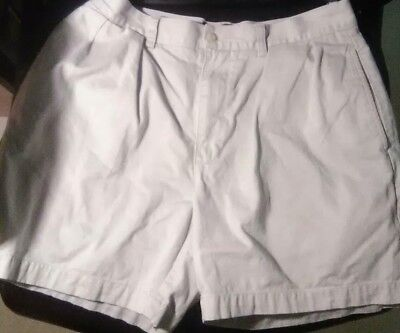 Beige Shorts Sz Classic Ralph 33 Chino Short Lauren Polo Andrew Pleated 5Ajcq34RLS