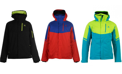 d31e736cd4 BNWT Salomon Rise Ski snowboard jacket men s various colours S-XL RRP  £219.99