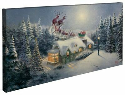 Thomas Kinkade Dash Away All 16 x 31 Gallery Wrapped Canvas