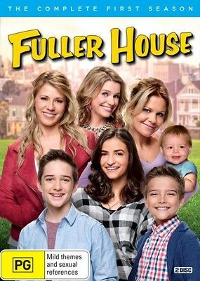 Fuller House - Season 1 (Dvd, 2017) [Brand New & Sealed]
