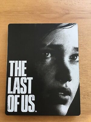 Last Of Us Steelbook Case ONLY ( NO GAME )