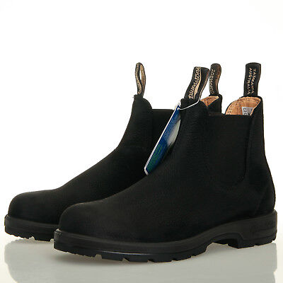 New Leather Chisel Uk Black 063 Shoes 12 Boots Mens Blundstone 7 p1PxRp