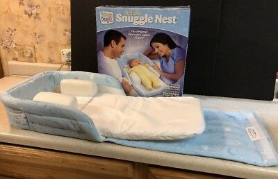 Baby Delight DELUXE SNUGGLE NEST Portable Infant Sleeper