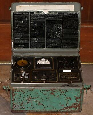 Allen Electric Tester Ignition Circuit Mod Ord. No. 2-43 M-1 WWII Military Auto