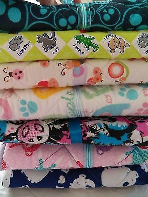 Baby Diaper CHANGING PAD Travel Mat Cotton Washable Portable Padded Handmade NEW