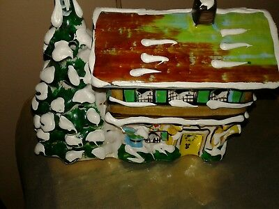 "MOUNTAIN LODGESNOW VILLAGE ""Department 56  Village1976  ORIGINAL 7"