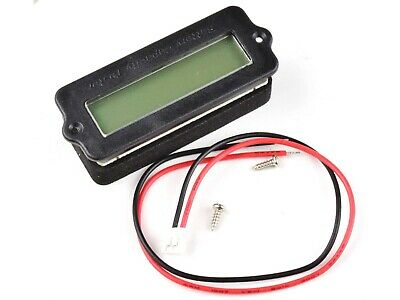 LCD Battery Gauge 12V-48V Lead-Acid and 2-15 Cell Lithium, programmable   #3256