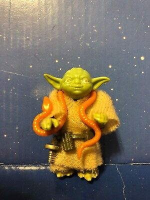 Vintage 1980 Star Wars Yoda (orange snake) Hong Kong