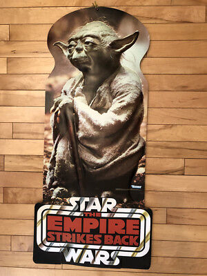 1981 Star Wars YODA Empire Strikes Back, LARGE Store Display - LucasFilm *KENNER
