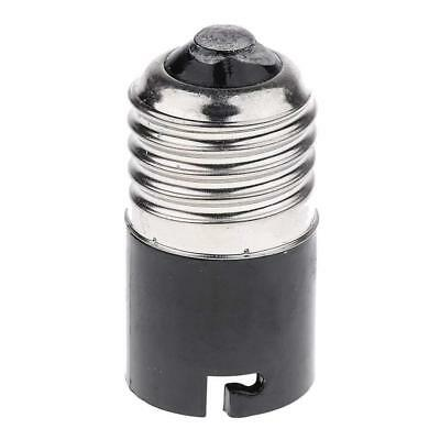 E27 to B22 Bayonet Cap to Edison Screw ES Ligt Bulb Fitting Converter