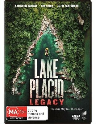 Lake Placid - Legacy (Dvd, 2018) [Brand New & Sealed]