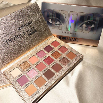 Cosmetic Matte Eyeshadow Cream Makeup Palette Shimmer Set 9/16/18/35 Color DE