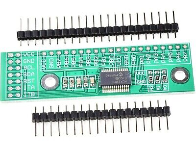 MCP23017 Breakout Board 16 Channel I2C GPIO Expander for Arduino STM32 PIC #3348