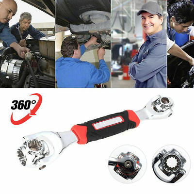 Hot Tiger 360 Degree Wrench 48 In 1 Tools Socket Works With Spline Bolts Torx UK