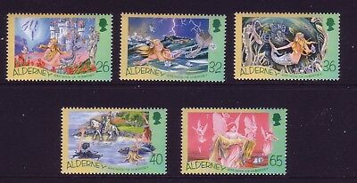 Alderney 2005 Birth Bicentenary of Hans Christian Anderson   SG A248/52  MNH