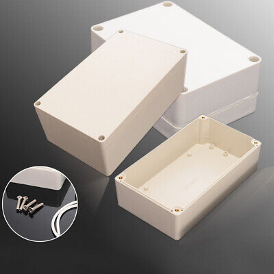 Plastic Plastic Electronics Project Box Enclosure Case With Screws Waterproof