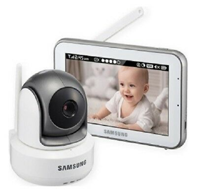 Samsung WiseNet Night Time Baby Monitor, Remote Pan Tilt, HD Audio And Video