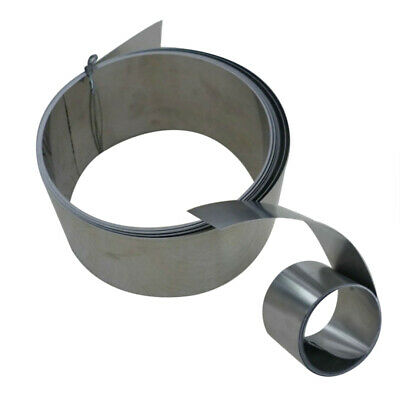 Thin Stainless Steel Fine Plate Sheet Foil 0.2mm x 100mm x 1m Roll Length