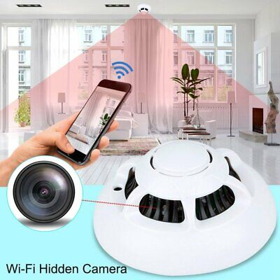 1080P HD Wi-Fi Hidden Camera Smoke Detector Real-time Security Video Recorder