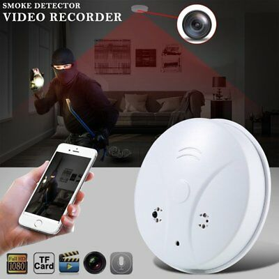 1080P HD Wifi Hidden Camera Smoke Detector Motion Detection Video Recorder CA