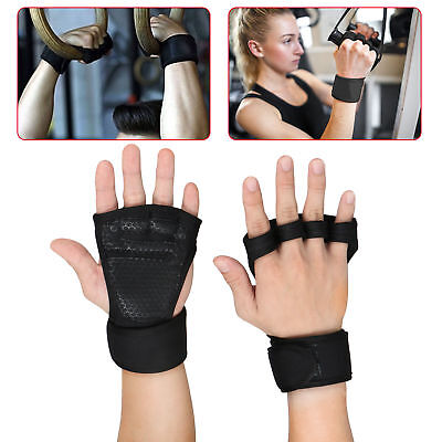 Weight Lifting Gloves Fitness Gym Workout Training Wrist Wrap Strap Men / Women