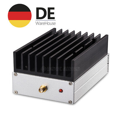 43dB RF Power Amplifier Ultra Breitband HF-Leistungs Verstärk 1M-130MHz 6W