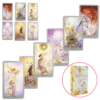 Full Version Shadowscapes Tarot Cards Deck Board Game Playing Game 78 Cards New