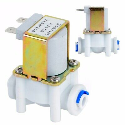 """12V 1/4"""" Electric Solenoid Valve Magnetic DC N/C Water Switch Normally Closed"""