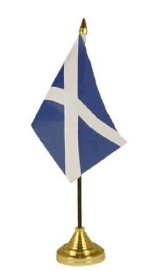 Scotland St Andrew's Cross Scottish Saltire Table Conference Convention Flag