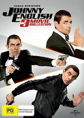 Johnny English 3 Movie Collection Box Set DVD Region 4 NEW